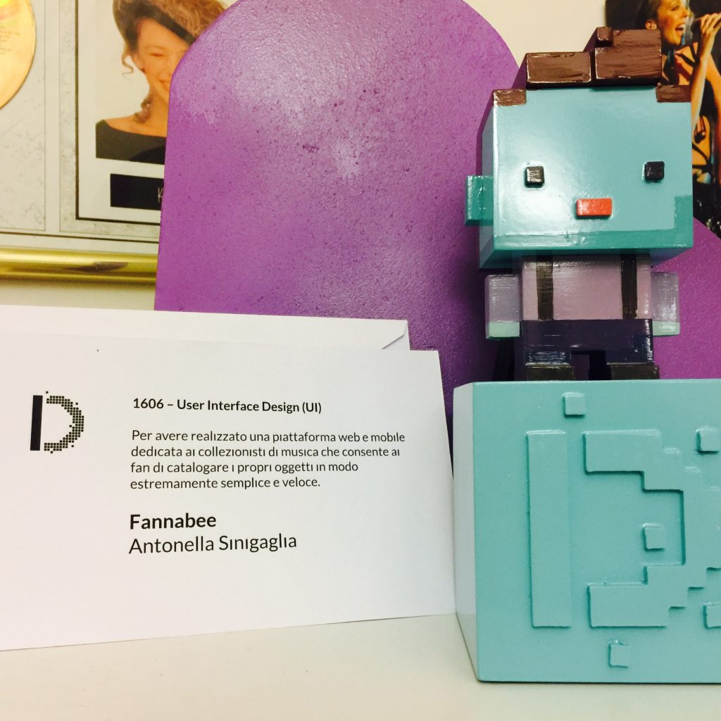 Antonella Sinigaglia Winner at Digital Design Awards 2016