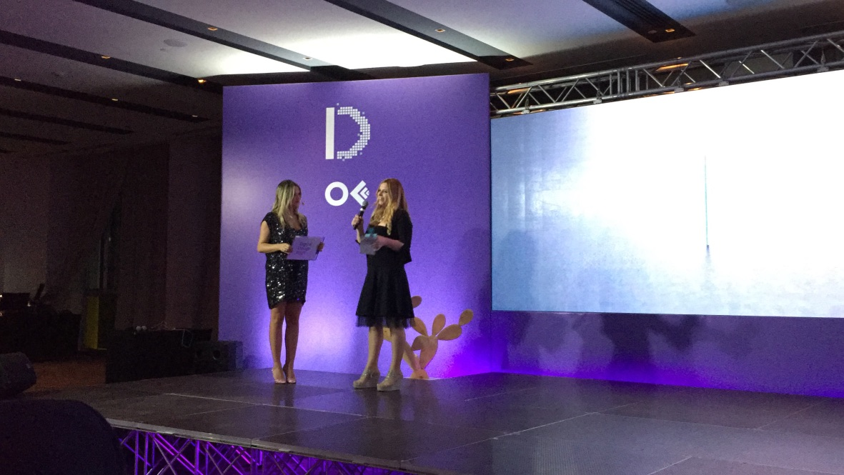 Antonella Sinigaglia vincitrice del Digital Design Award 2016